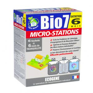 Microstations Bio7 - biopreparat do oczyszczalni biologicznej.