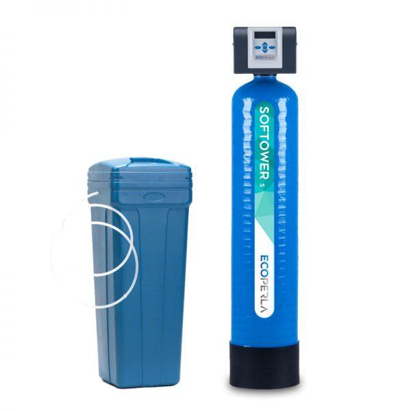 Dwuczęściowy zmiękczacz wody Ecoperla Softower
