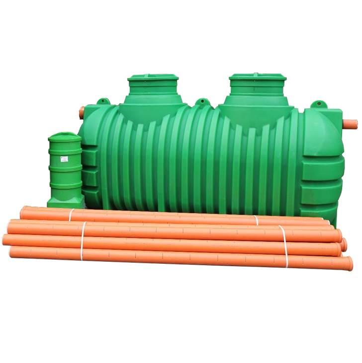 kompletna oczyszczalnia drenażowa 3000 litrów
