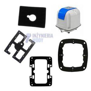 Zestaw uszczelek + filtr - Thomas AP-40, AP-60N, AP-60/80, AP-80H, AP-100, AP-120