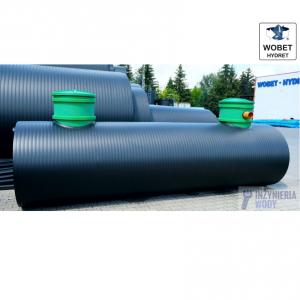 Dwupłaszczowy zbiornik na deszczówkę 2000 - 20 000 litrów